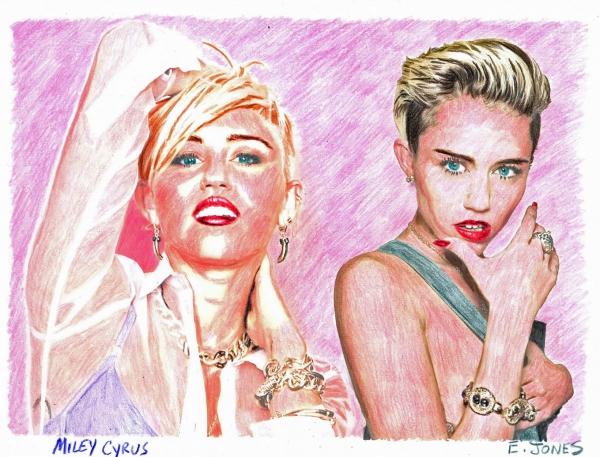 Miley Cyrus por jonese